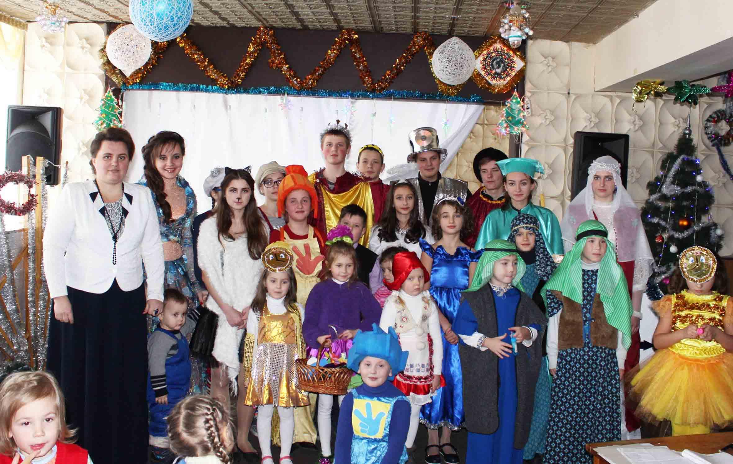 Недільна школа храму Різдва Пресвятої Богородиці